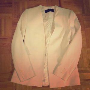 NWOT Zara Basics white blazer